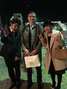 中田博人、加藤彩歌